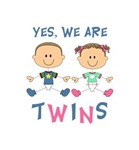 YES WE ARE TWINS