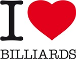I LOVE BILLIARDS
