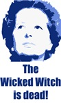 Wicked Witch is Dead (blue)