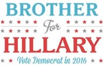 Brother for Hillary