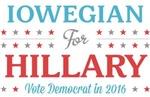 Iowegian for Hillary