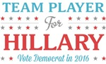 Team Player for Hillary