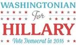 Washingtonian for Hillary