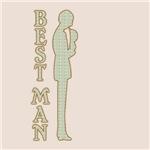 Victorian Silhouette Best Man Wedding Gift Ideas