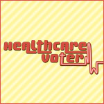 Striped Healthcare Voter Shirts