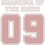 Uniform Grandma of the Bride 09 T-Shirts