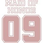 Uniform Maid of Honor 09 T-Shirts