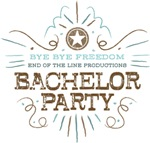 Bye Bye Freedom Bachelor Party Tees