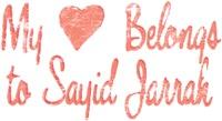 My Heart Belongs to Sayid Jarrah