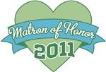 Heart Banner 2011 Matron of Honor