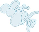 Dusty Blue Amor Best Man Shirts