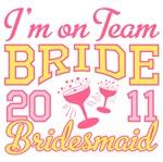 Team Bride 2011 Bridesmaid Shirts