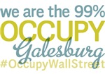 Occupy Galesburg T-Shirts