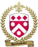 DUROUSSEAUX Family Crest