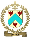 DEMARLE Family Crest