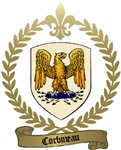 CORBINEAU Family Crest