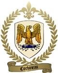 CORBINEAU Family Crest