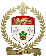 COLLETTE Family Crest
