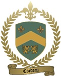 CORDEAU Family Crest