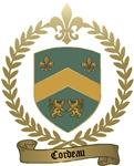 CORDEAU Family Crest