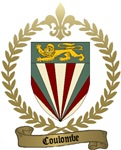 COULOMBE Family Crest