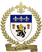 COTTREAU Family Crest