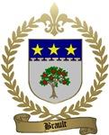 BRAULT Family Crest