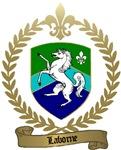 LABORNE Family Crest Crest