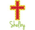 Shelby Bubble Cross