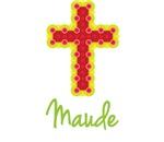 Maude Bubble Cross