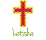 Latisha Bubble Cross