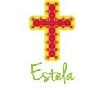 Estela Bubble Cross