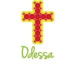 Odessa Bubble Cross