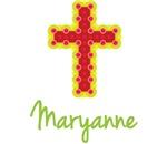Maryanne Bubble Cross