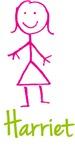 Harriet The Stick Girl