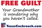 Free Guilt: grandmother wondering