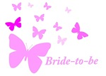 Bride-to-Be (Butterflies)