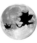 Santa Claus Dragon Rider Sleigh Ride