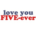 I Will Love You FIVE-ever