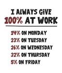 100% Effort at Work