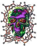 39. Tribal Skull