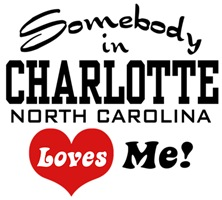 Charlotte North Carolina t-shirt