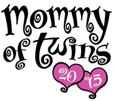 Mommy of Twins 2015 t-shirt