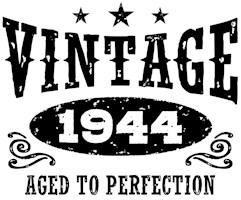 Vintage 1944 t-shirts