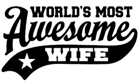 World's Most Awesome Wife t-shirt