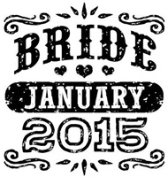 Bride January 2015 t-shirt