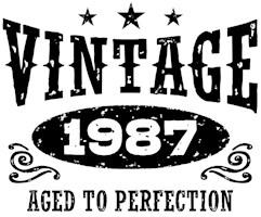 Vintage 1987 t-shirts