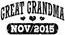 Great Grandma November 2015 t-shirt