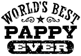 World's Best Pappy Ever t-shirt