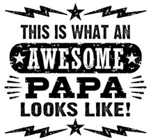 Awesome Papa t-shirts